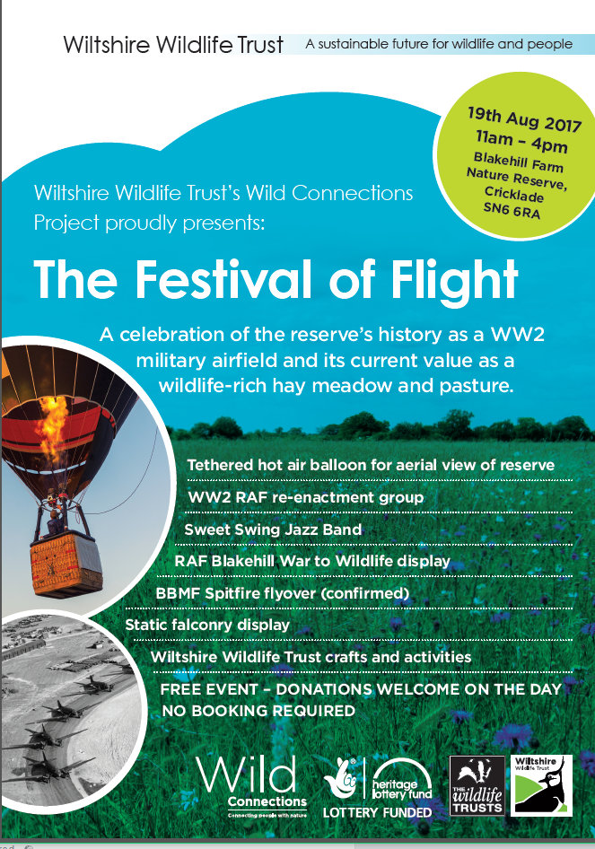 Wiltshire Wildlife Trust - Festival of Flight 2017
